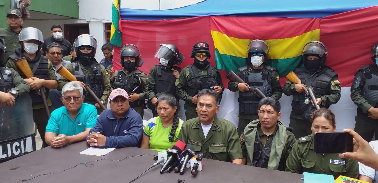 Movilizaciones y vigilia a dependencias de la Policía continúan en Tarija