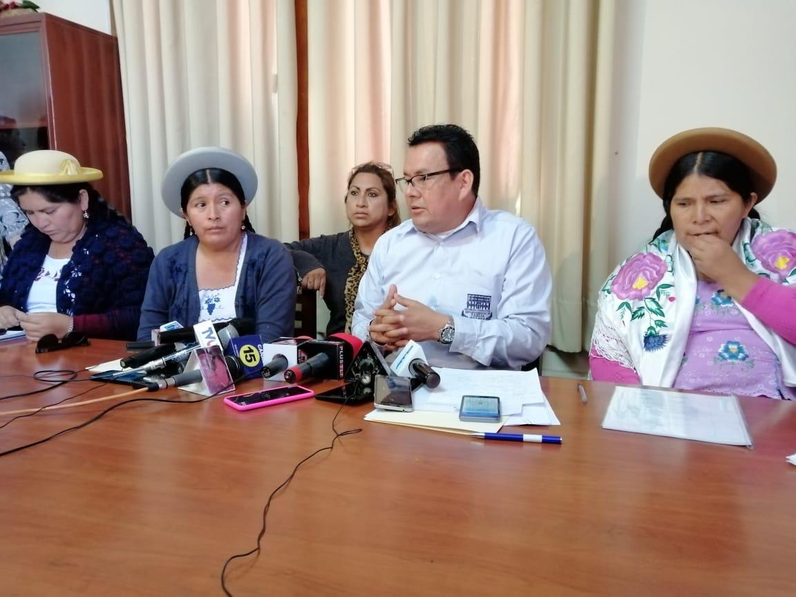 """Bancada del MAS en Tarija denuncia """"golpe de estado"""" ante la comunidad internacional"""