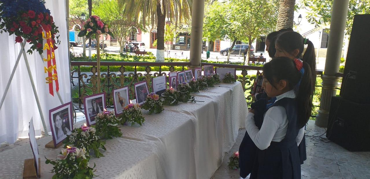 Colectivos emiten manifiesto público en contra de la violencia en Tarija