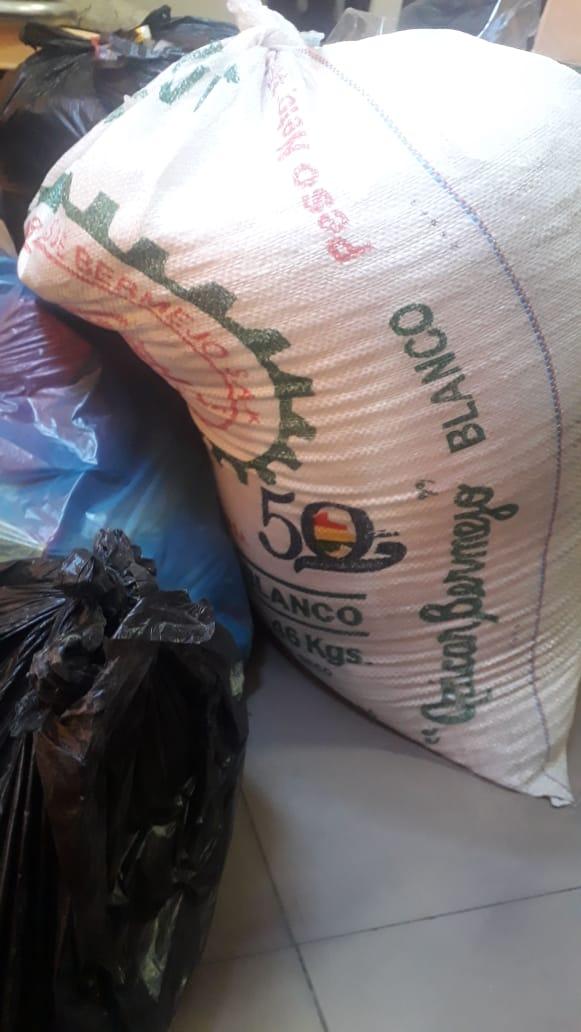 Tarija: Decomisan azúcar con heces de ratón