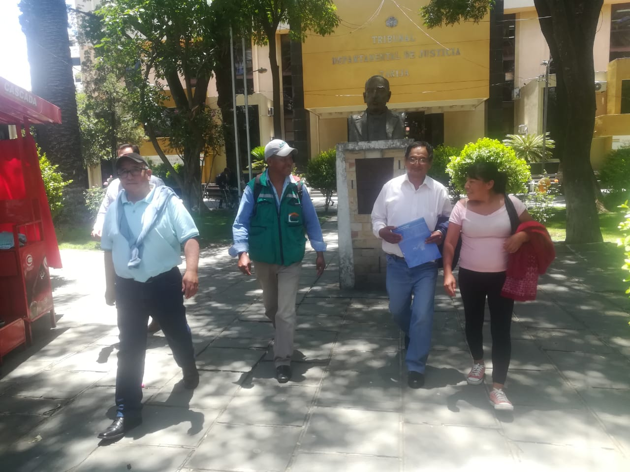 Juez determina libertad irrestricta para Lino Condori