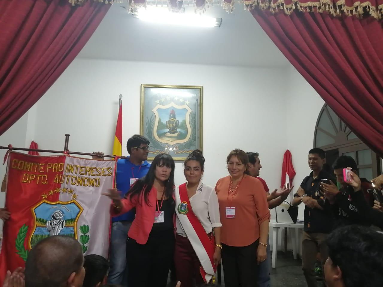 Paola Mendoza fue elegida presidente del Comité Cívico de Tarija