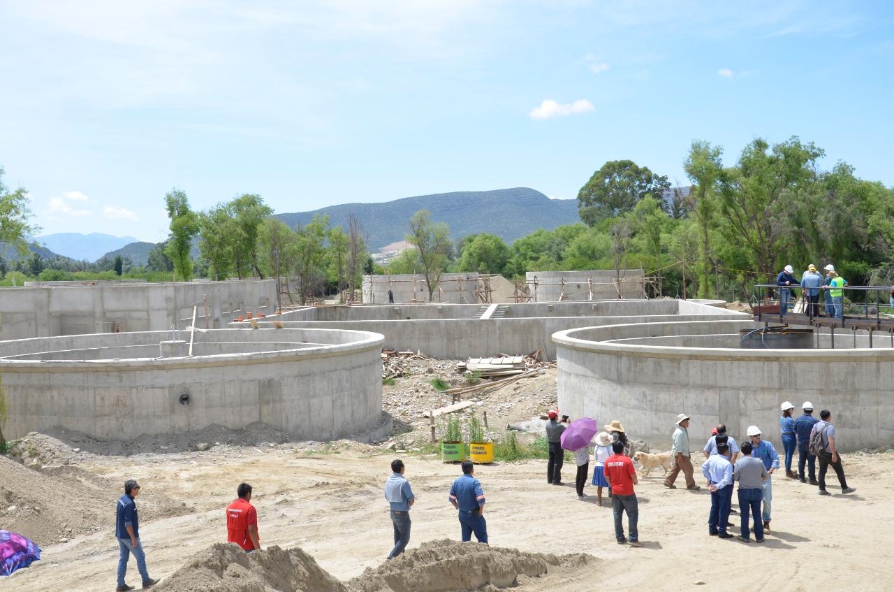 Planta de San Blas, Oliva verifica 60% de avance