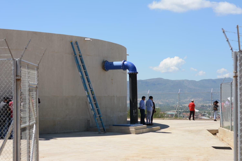 En abril funcionará el tanque que dará agua al Distrito 10