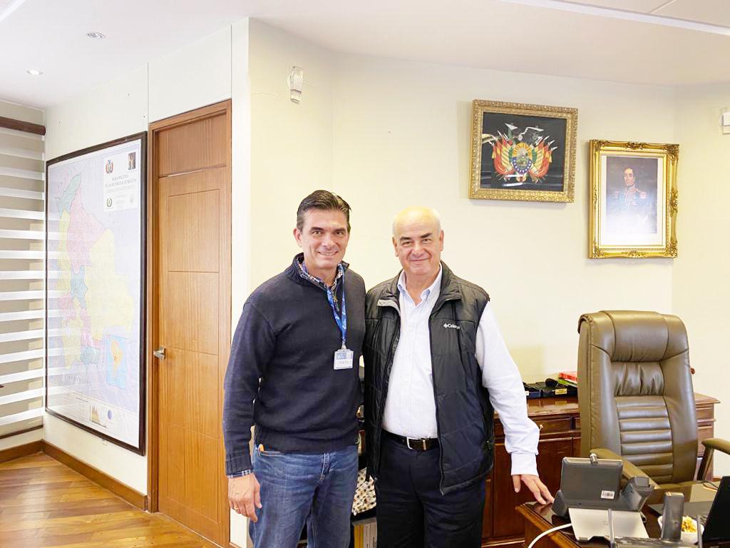 Tras reunión con Ministro,  Alcaldía de Tarija recupera Bs 7 MM