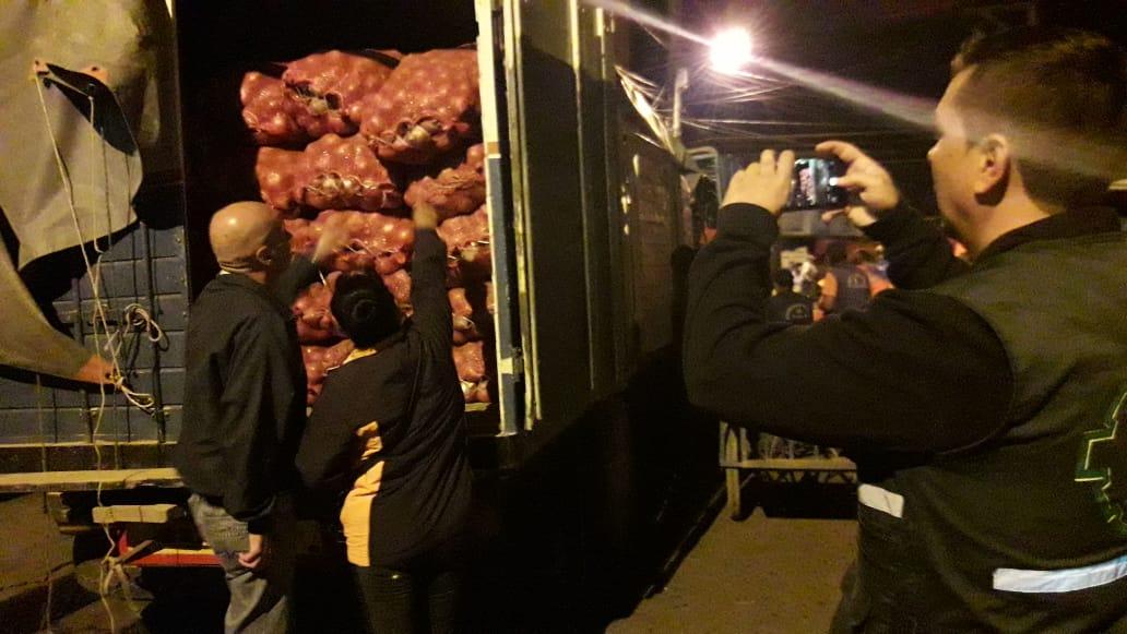 Operativo en Tarija evidencia lucha eficaz contra el contrabando de cebolla