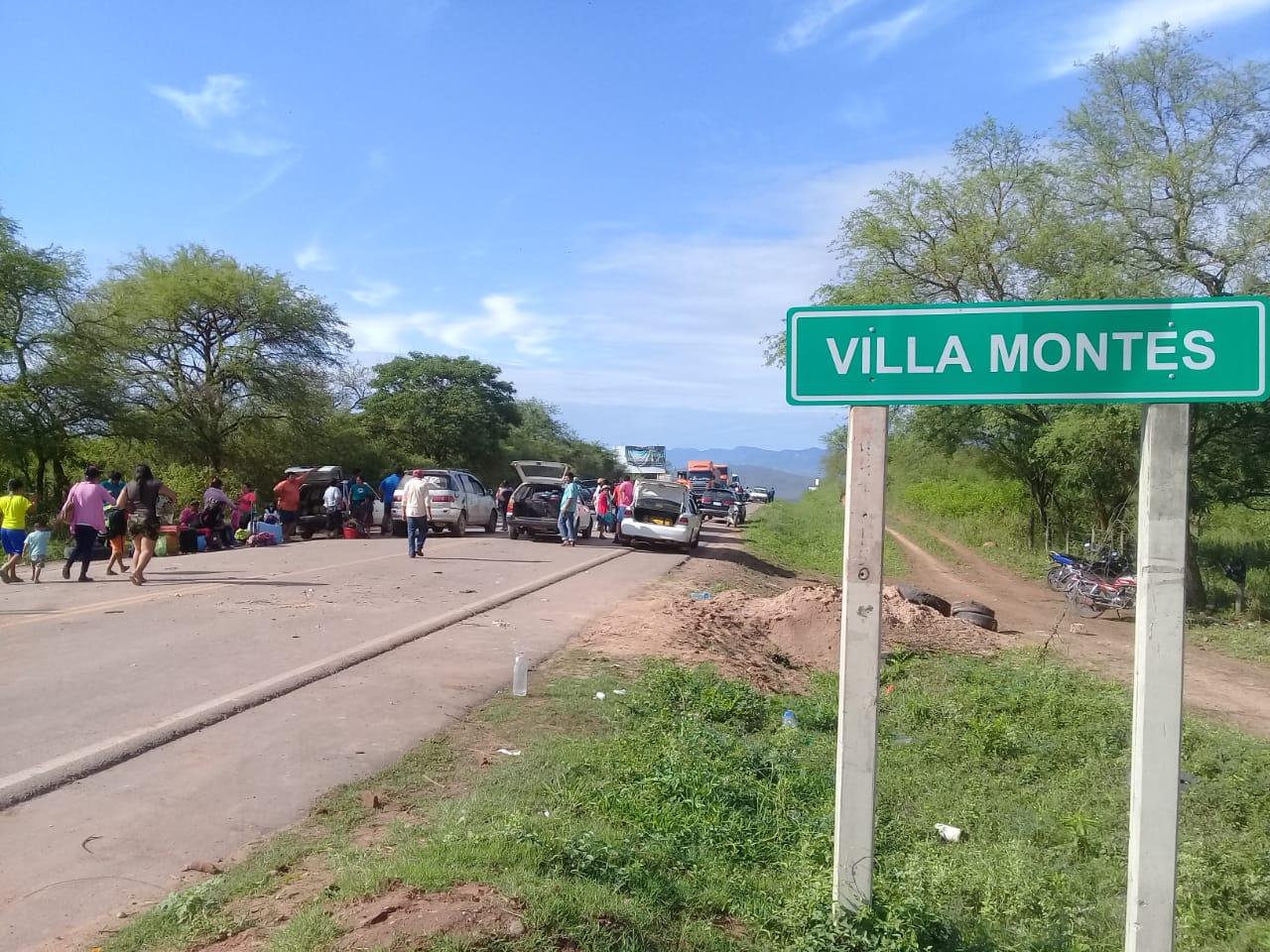 Anuncian bloqueo en Villa Montes a partir del lunes 13 de enero