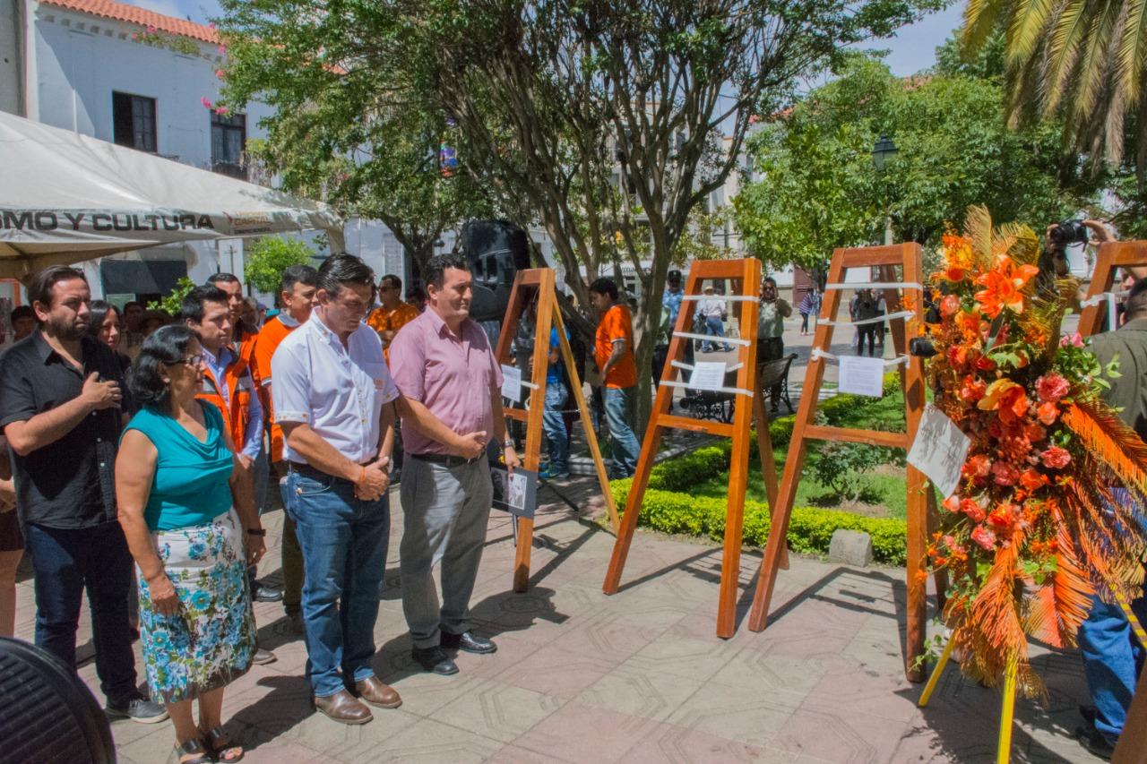 Rodrigo Paz defiende la democracia y rinde homenaje a los caídos en la Masacre de la Calle Harrington