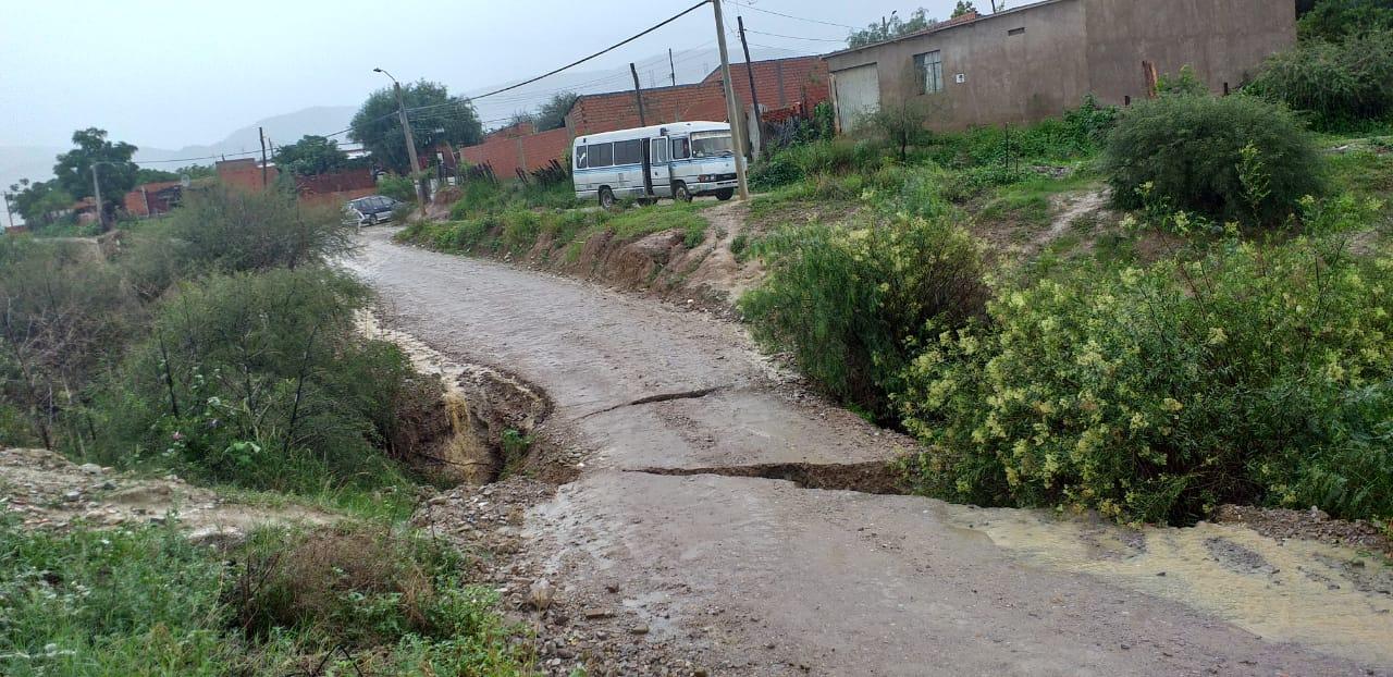 Desbordes de ríos genera estado de alerta en estaciones y cuencas del departamento de Tarija