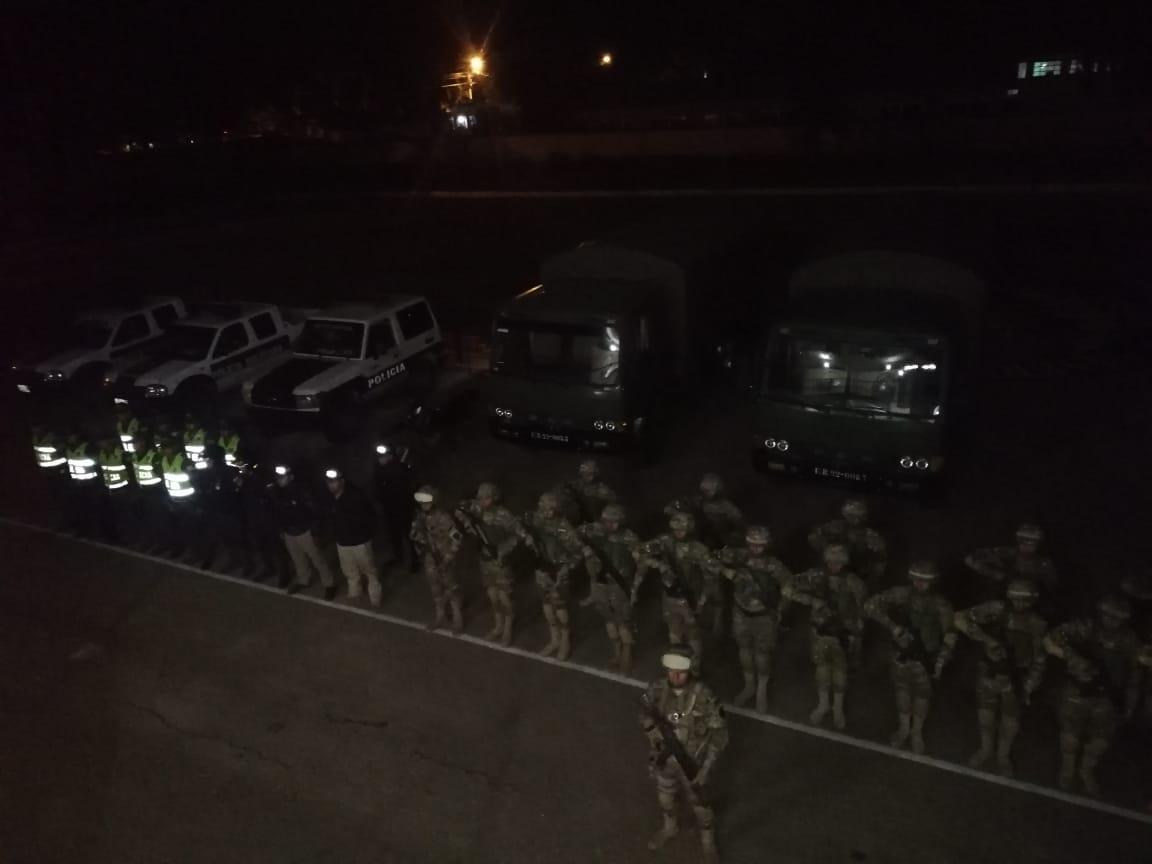 """Áñez en Tarija, militares en las calles y la """"retractación"""" de Morales marcaron la agenda política"""