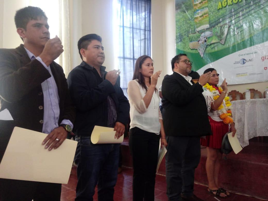 Marcela Guerrero asume la dirección del INRA Tarija