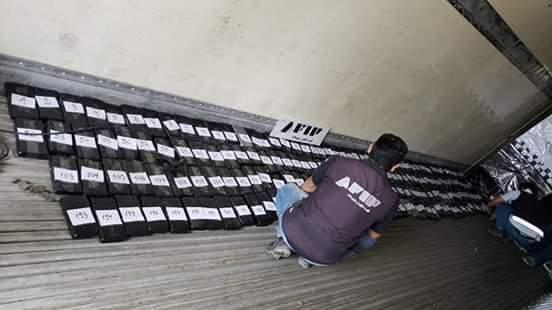 Secuestran 207 kilos de cocaína en la frontera de Yacuiba
