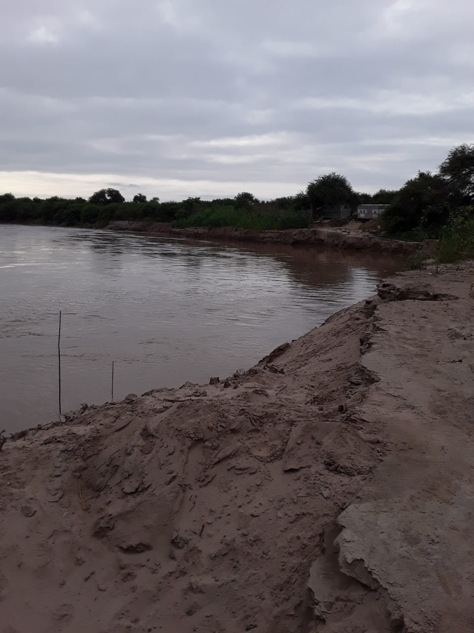 Alerta en el norte argentino por la crecida de los ríos Bermejo y Pilcomayo