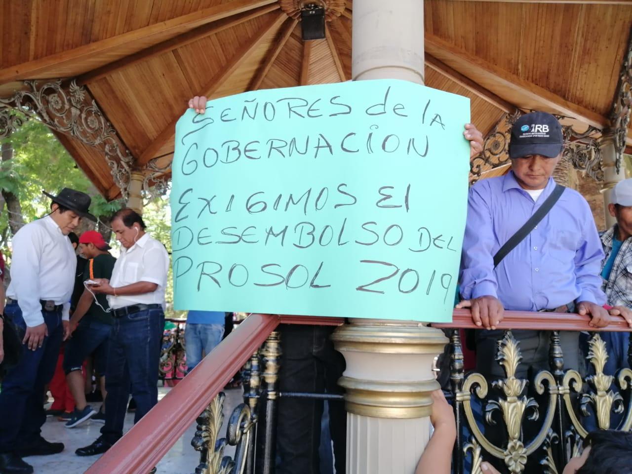 Marcha de comunidades campesinas exige desembolso del Prosol