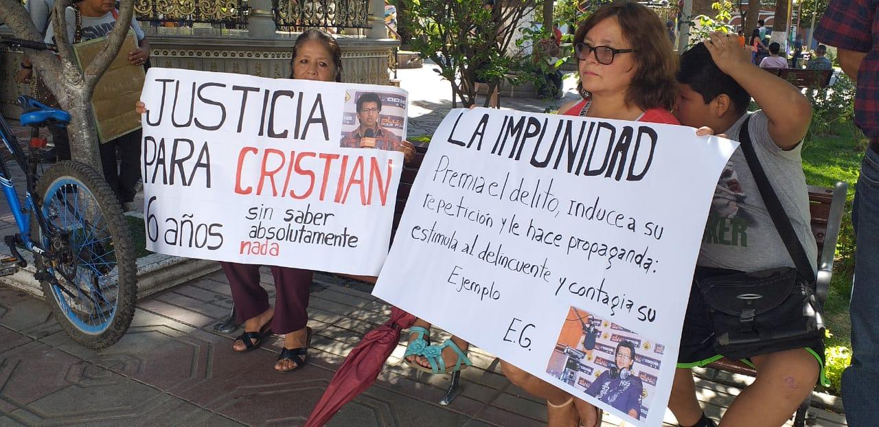 Anuncian estado de alerta y constantes movilizaciones por caso Mariscal