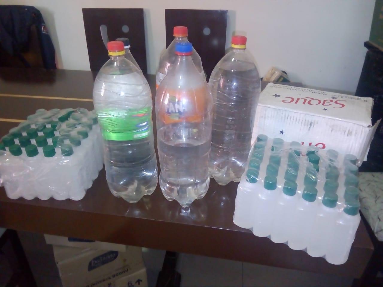 Decomisan bebidas alcohólicas adulteradas en Tarija