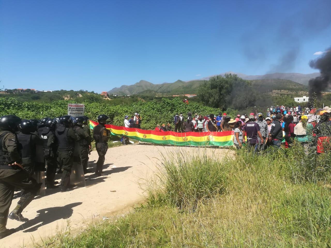 Policía intentó desalojar asentamientos en Aranjuez