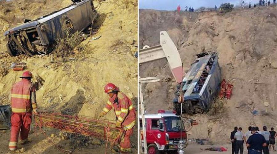 Confirman que 8 hinchas de Barcelona SC murieron en accidente de tránsito en Perú