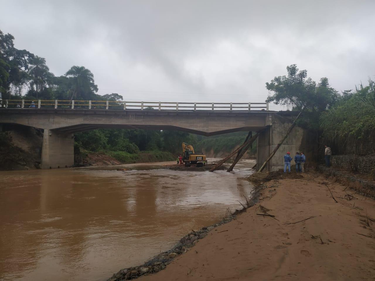 Paso en San Telmo, tramo Tarija-Bermejo, está condicionado a factores climatológicos