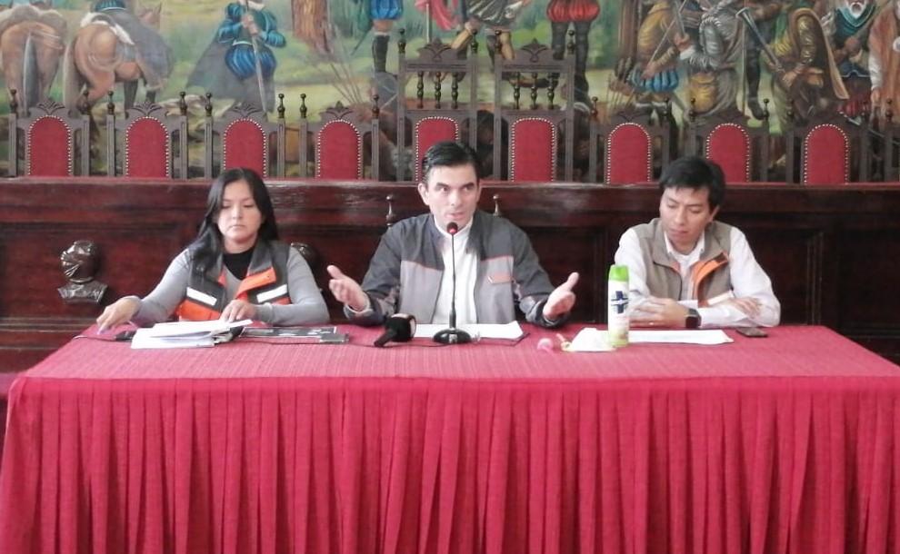 Alcaldía lanza plan de acción por aumento de caos de Dengue y prevención del Coronavirus en Tarija
