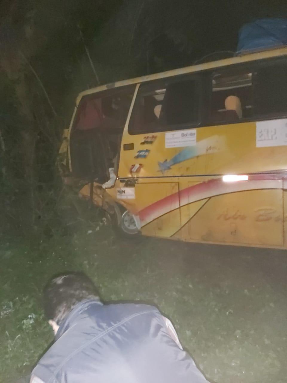 Al menos 6 muertos y 3 heridos tras accidente en la carretera Tarija-Bermejo