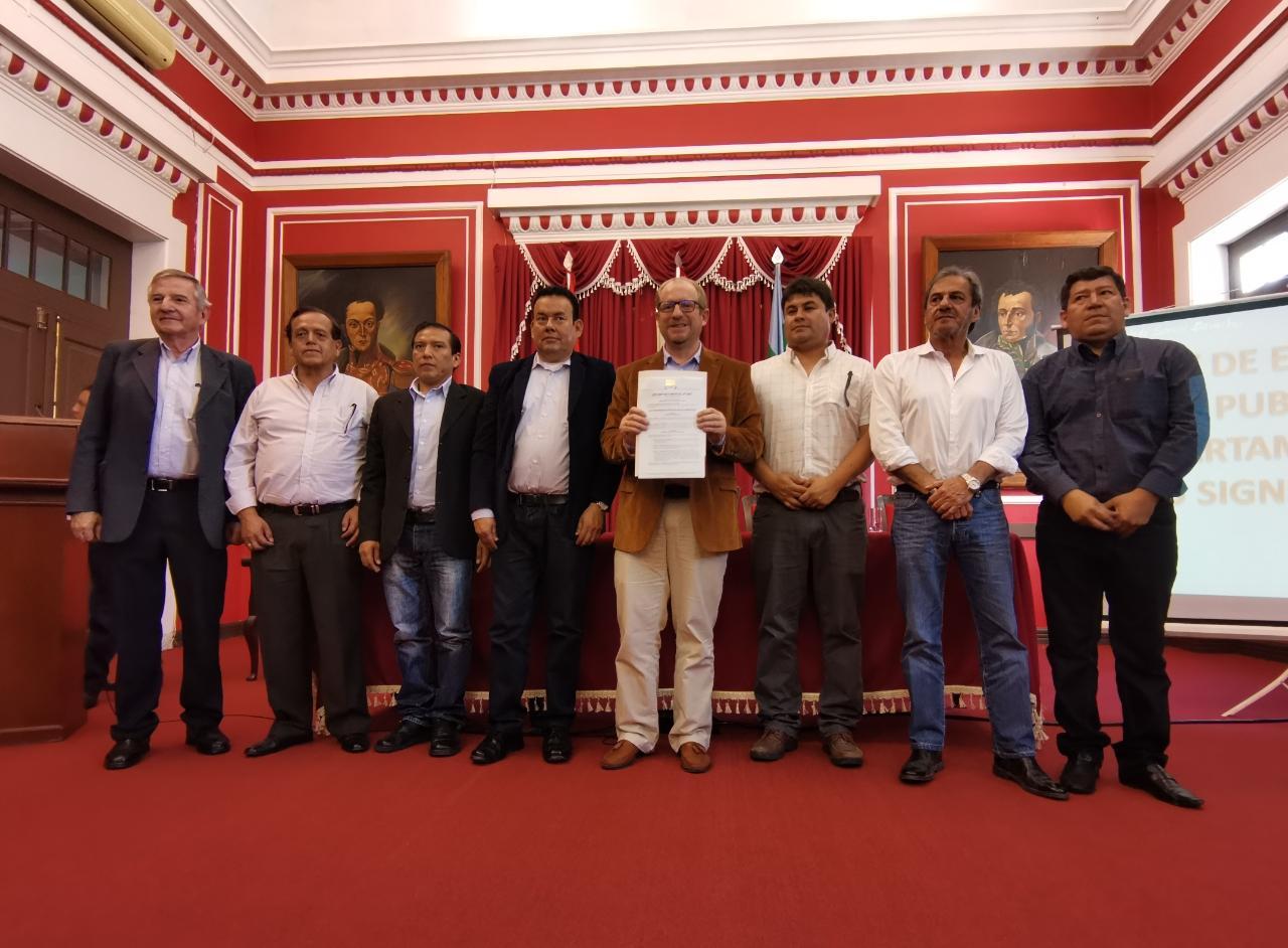 Tarija: Planean dar uso a planta de cítricos con Ley APP