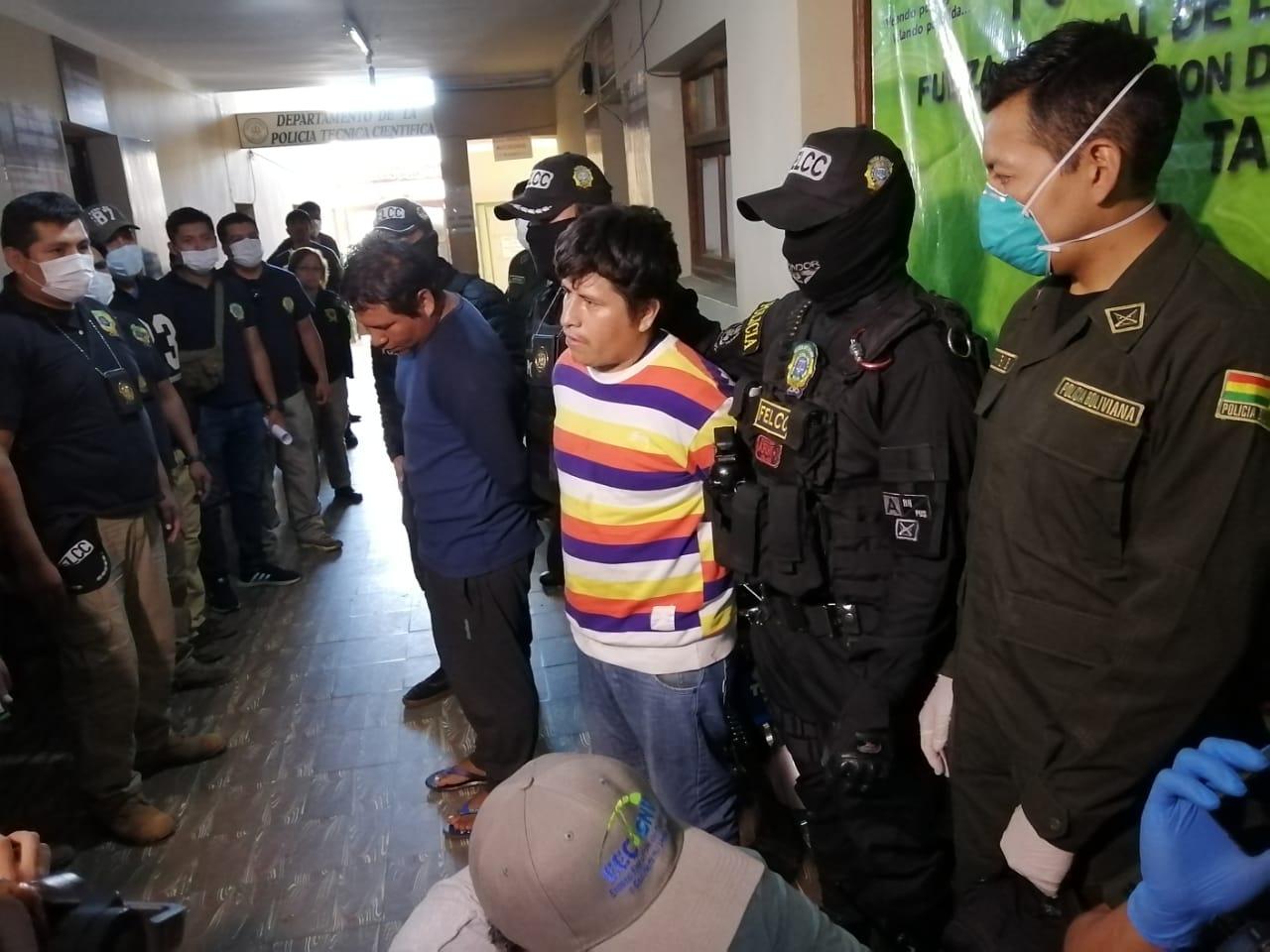 Aprehenden a dos motochorros acusados de robar más de $us 70mil en Tarija