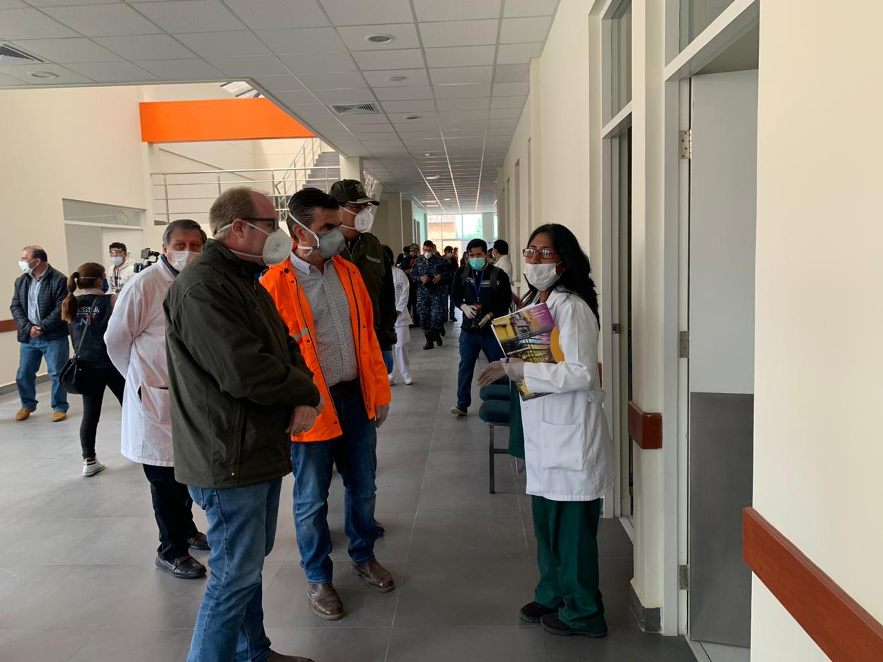 Activan centro en Tarija para atención de pacientes con Covid-19