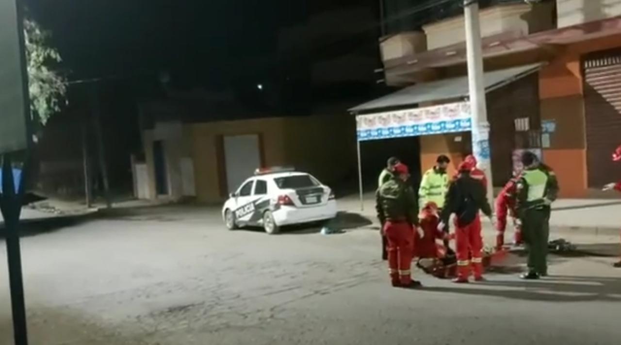 Hombre muere tras ser atropellado por camión