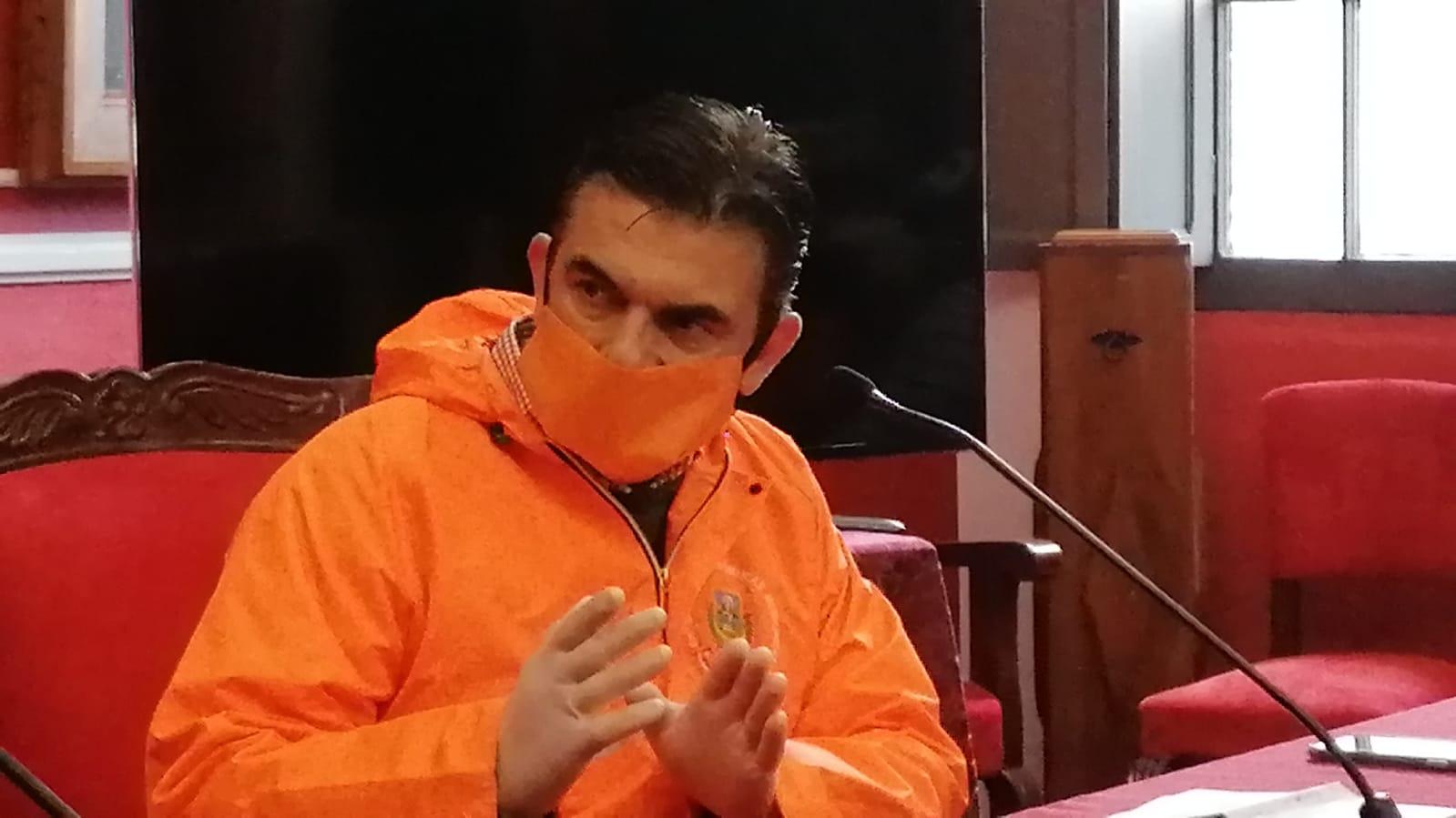"""Rodrigo Paz: """"En Tarija estamos solos contra el Covid-19 y debemos apoyarnos entre las instituciones"""""""