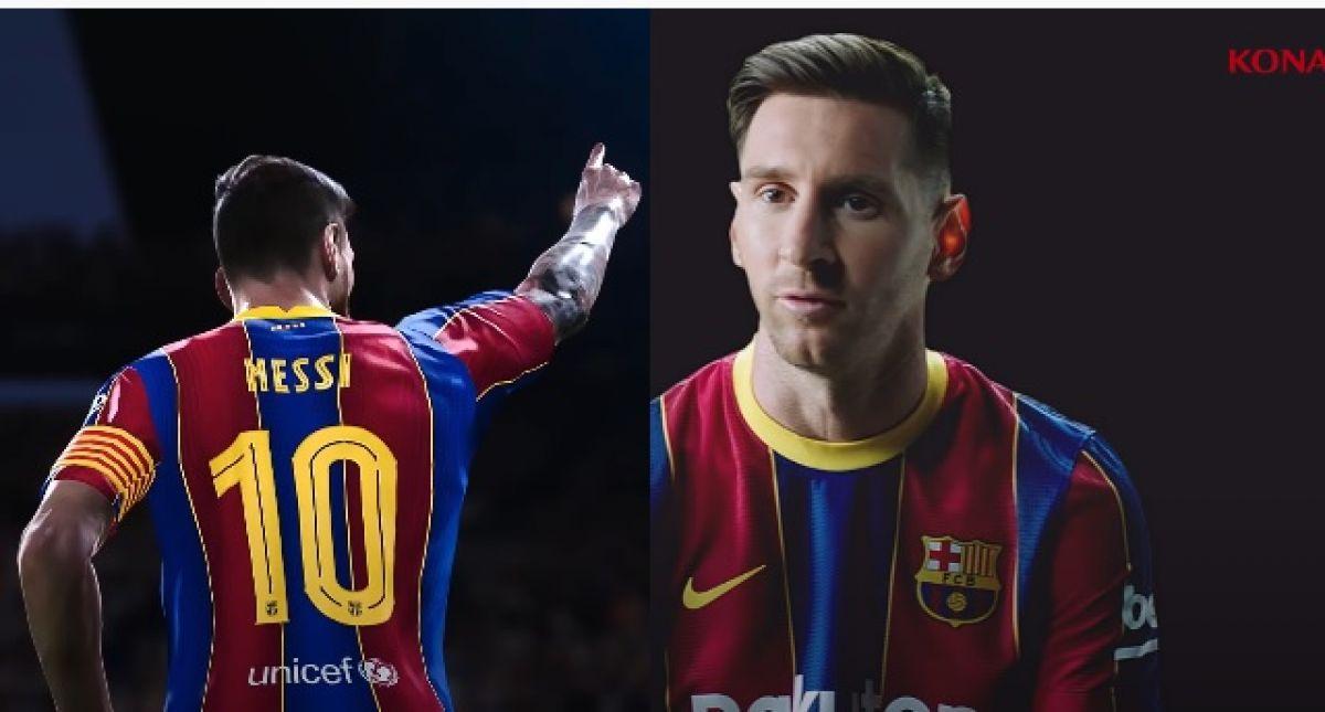 Messi protagonista del trailer de eFootball PES 2021 ...