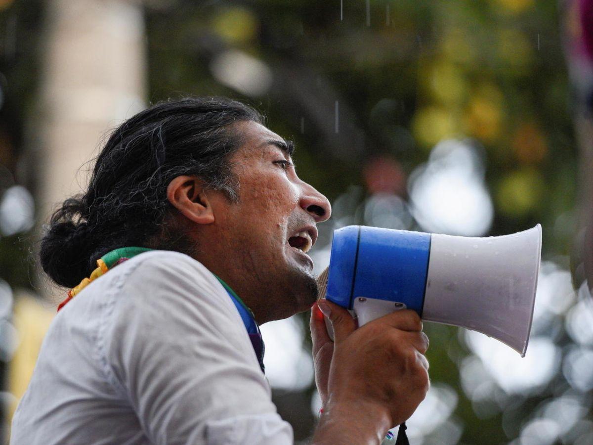 Policía dispersa protesta indígena frente al CNE — Ecuador
