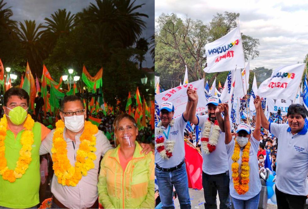 Ruiz vs Montes, campañas  vistas para su sentencia