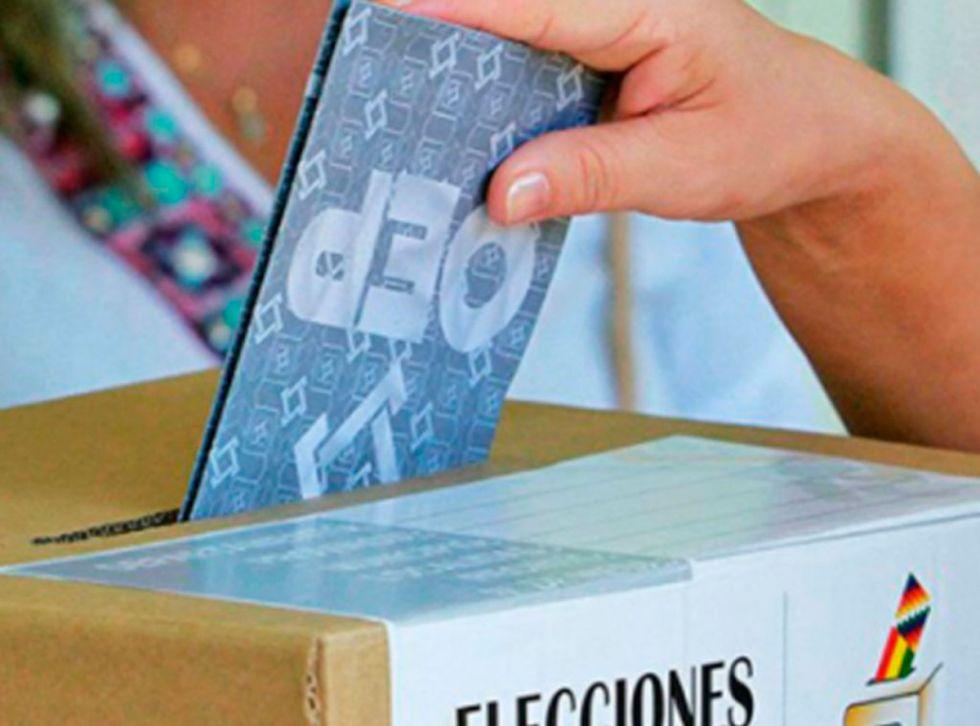 Silencio electoral rige desde hoy en 4 departamentos