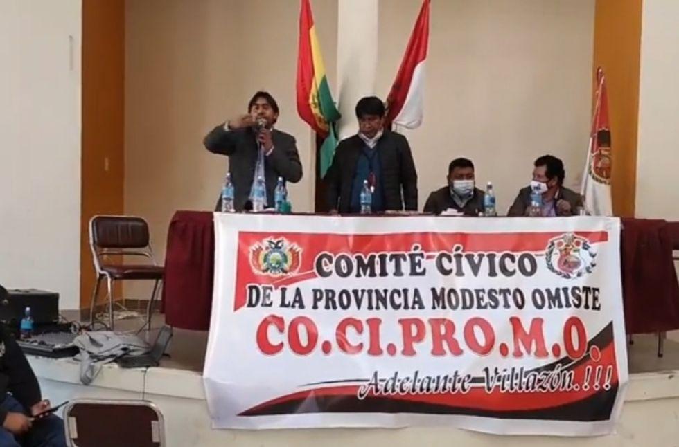 Dirigentes cívicos del sur se reunieron en Villazón
