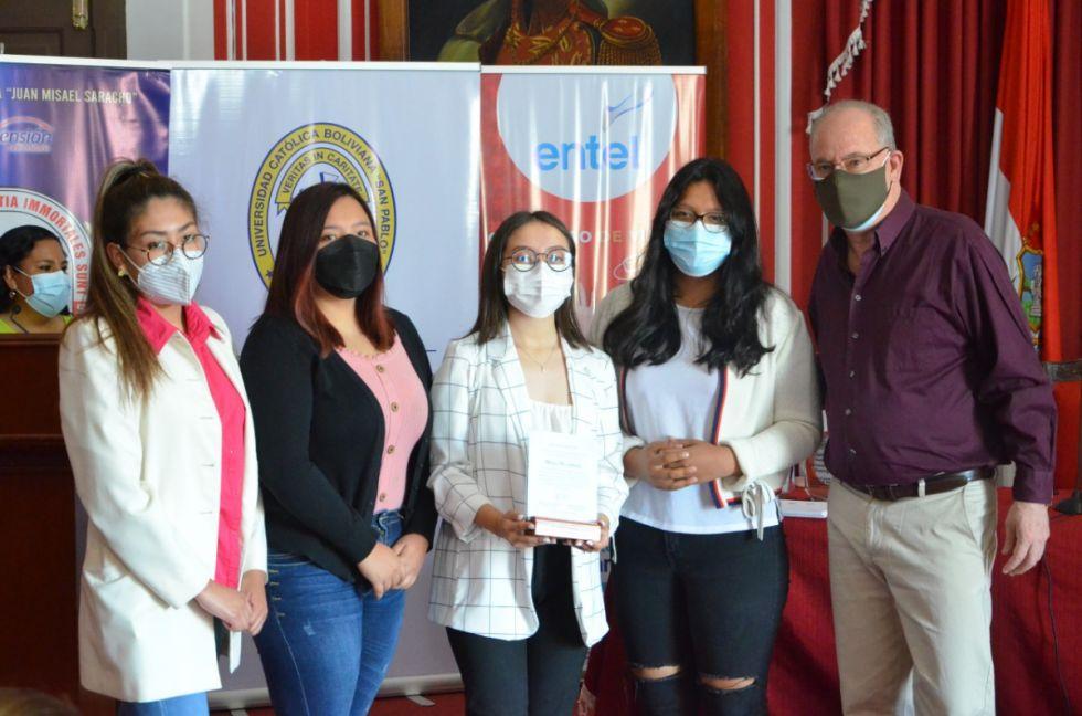 """Ganadores del concurso """"Tarija vacunada es más chura"""""""