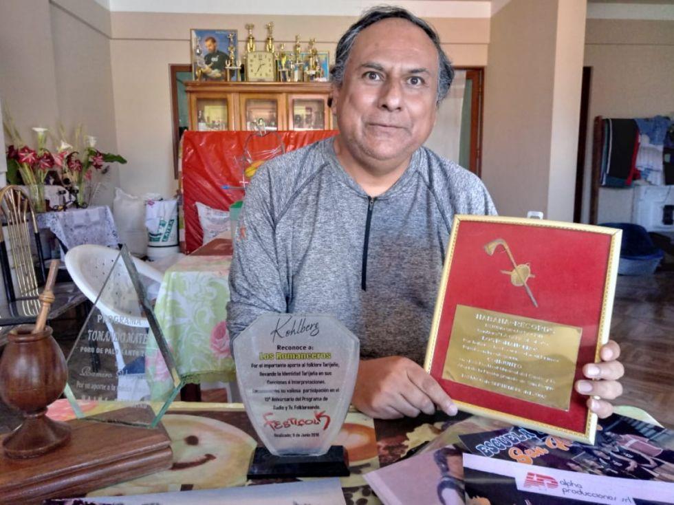 Ramiro, el tarijeño del medio millar de composiciones musicales